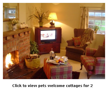good for couples - pet friendly cottages for 2 in Yorkshire